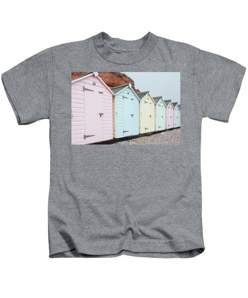 Beach Huts Vi Kids T-Shirt