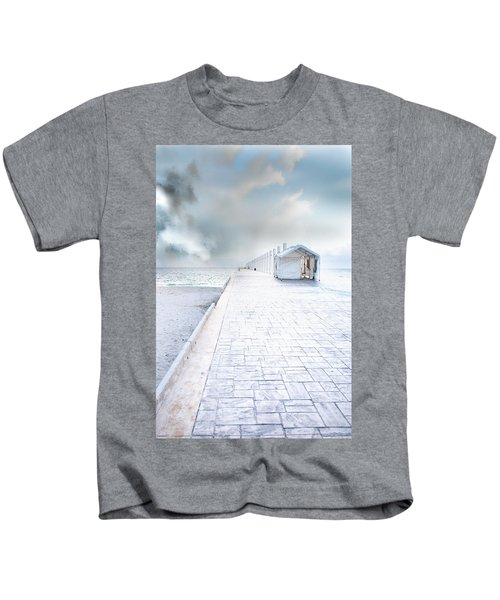 Beach Pier Kids T-Shirt