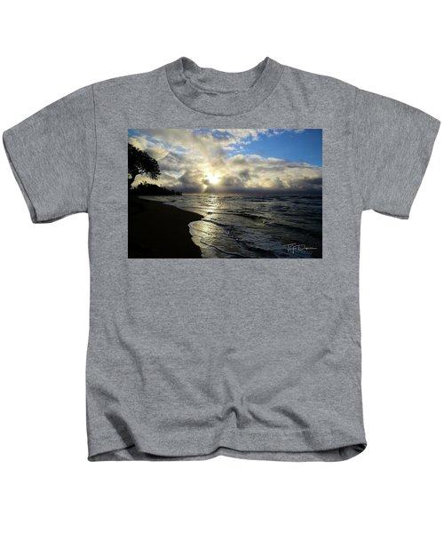 Beachy Morning Kids T-Shirt