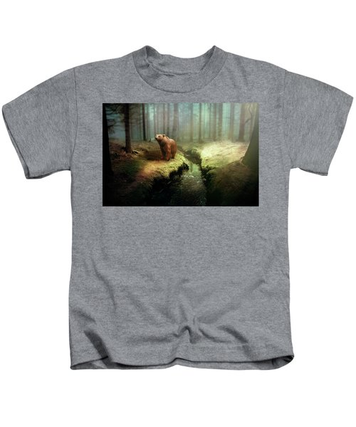 Bear Mountain Fantasy Kids T-Shirt