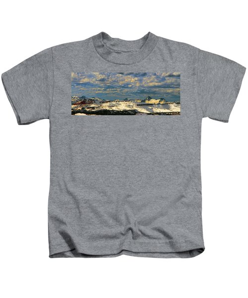 Bear Tooth Mountain Range Kids T-Shirt