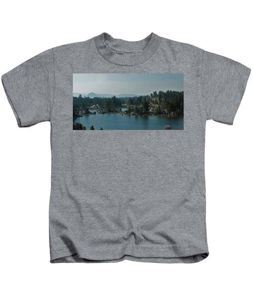Beartooth Pond At 10,000 Feet Kids T-Shirt