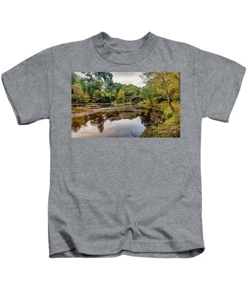 Beaver Bridge Autumn Kids T-Shirt