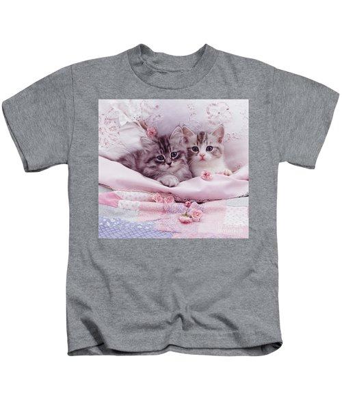 Bedtime Kitties Kids T-Shirt