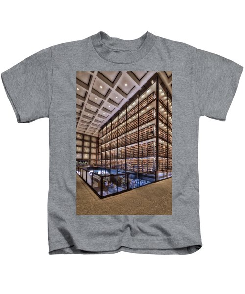 Beinecke Rare Book And Manuscript Library Kids T-Shirt