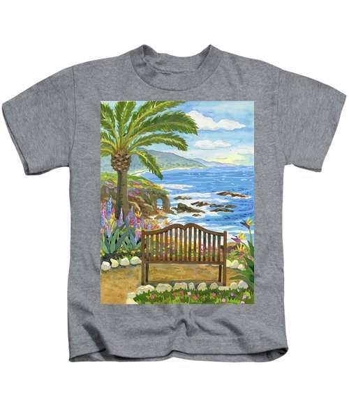 Bench At The Montage Kids T-Shirt