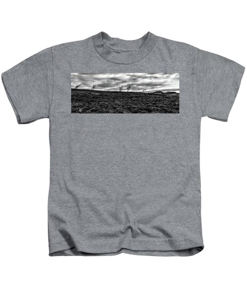 Bending To The Wind Kids T-Shirt