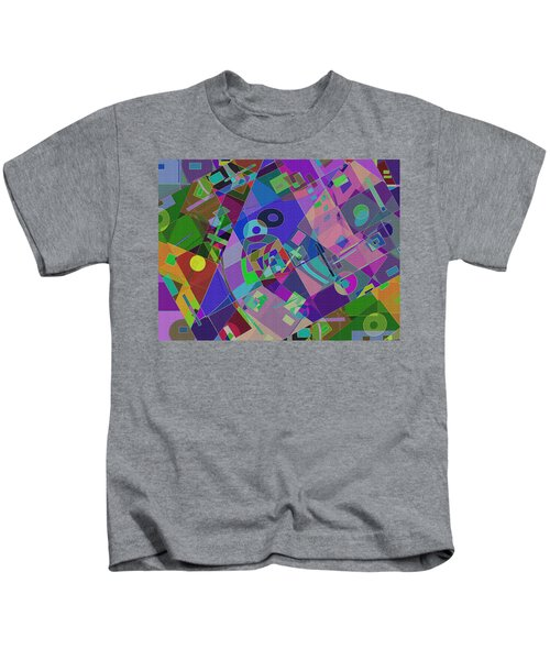 Bent Shapes 14 Kids T-Shirt