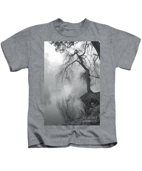 Bent With Gentleness And Time Kids T-Shirt