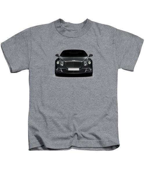 Bentley Continental Gt Kids T-Shirt