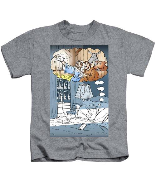 Nativity Selfie Kids T-Shirt