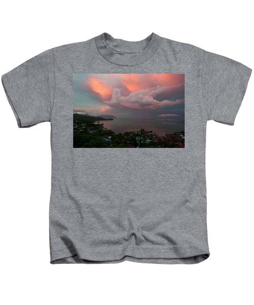 Between Rainstorms Kids T-Shirt