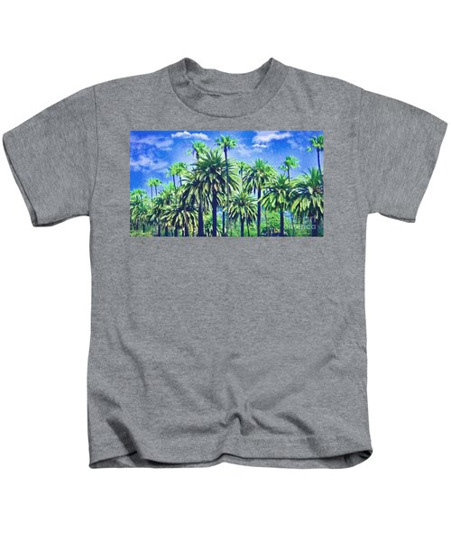 Beverly Hills Palms Kids T-Shirt