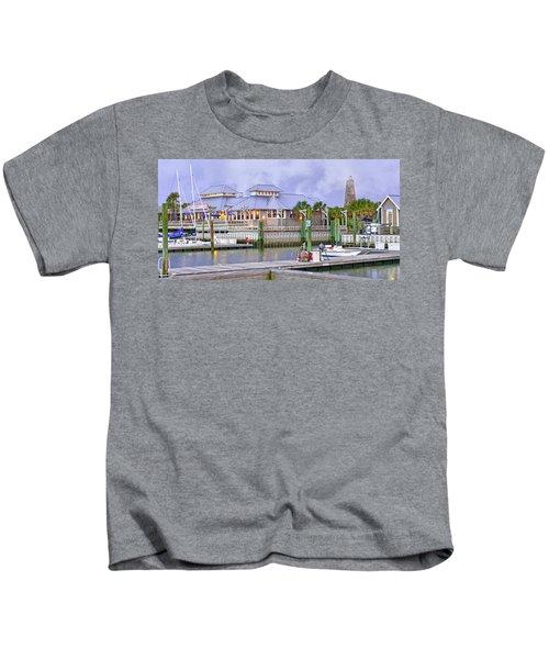 Bhi Marina Purple Hue Evening Kids T-Shirt
