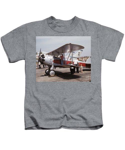 Bi-wing-3 Kids T-Shirt