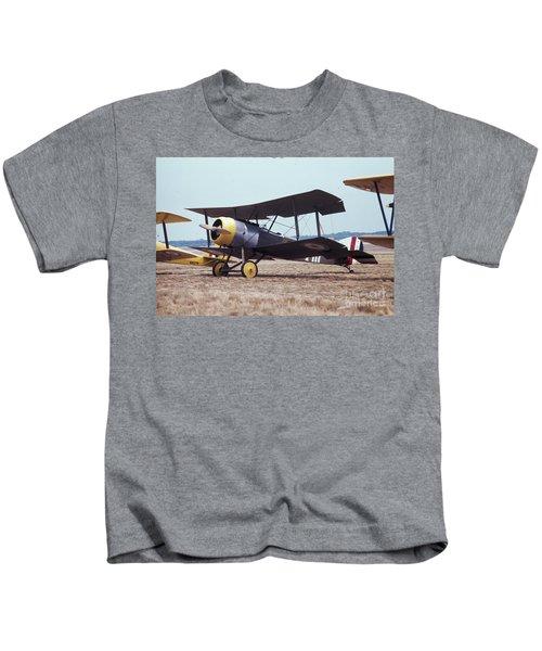 Bi-wing-4 Kids T-Shirt