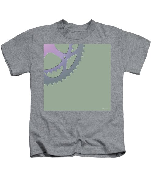 Bicycle Chain Ring - 4 Of 4 Kids T-Shirt