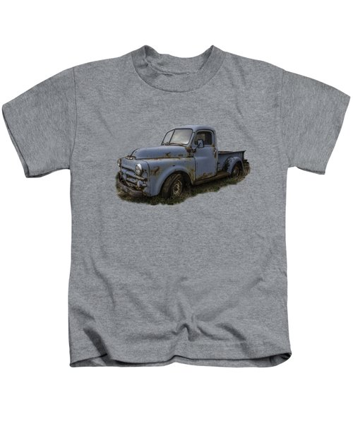 Big Blue Dodge Alone Kids T-Shirt