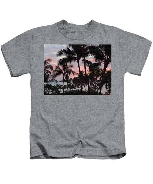 Big Island Sunset 2 Kids T-Shirt