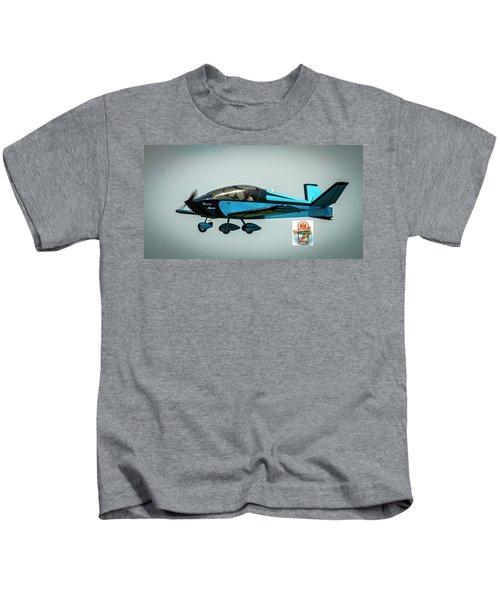 Big Muddy Air Race Number 100 Kids T-Shirt