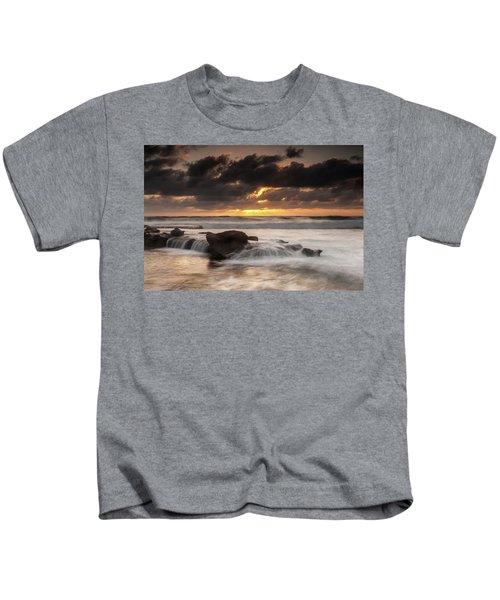 Bird Rock Clearing Storm Kids T-Shirt