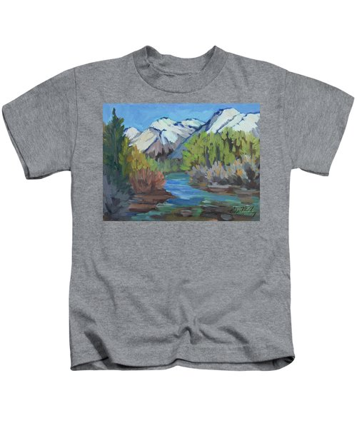 Bishop Creek - Sierra Nevadas Kids T-Shirt