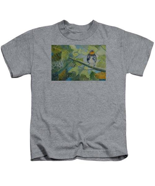 Blackburnian Warbler I Kids T-Shirt