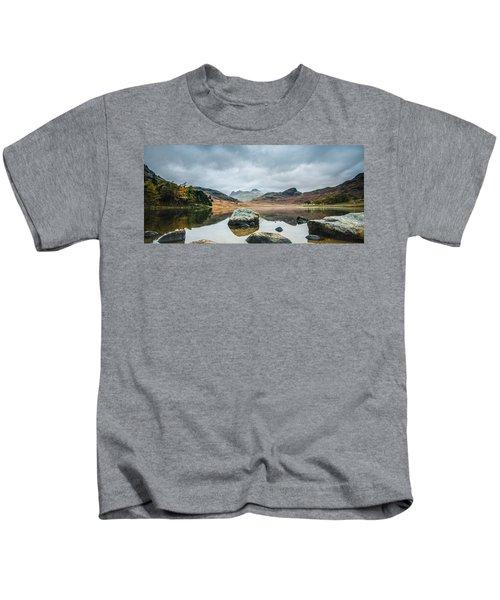 Blea Tarn In Cumbria Kids T-Shirt
