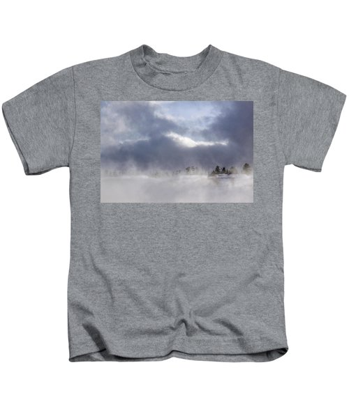 Blizzard In Bryce Canyon Kids T-Shirt