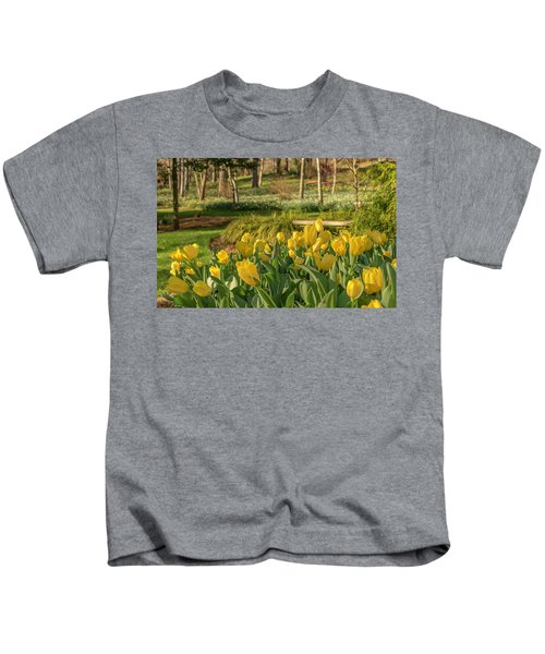 Bloomin Tulips Kids T-Shirt