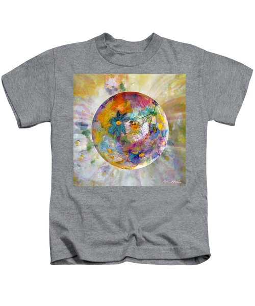 Blossoms In Pastel Kids T-Shirt