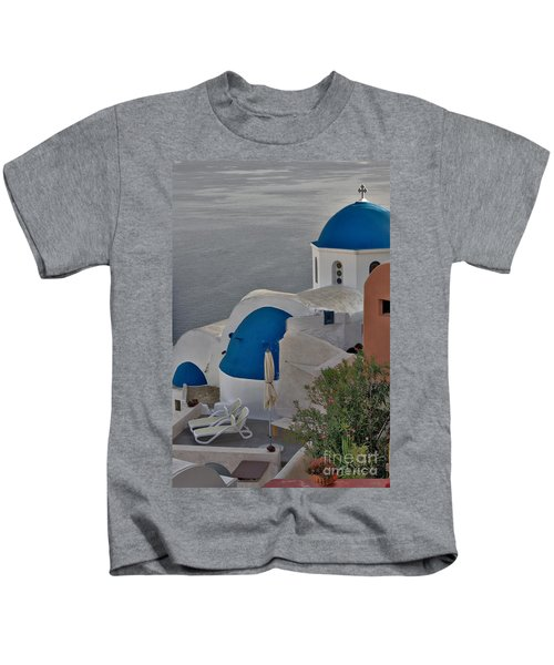 Blue Domes Kids T-Shirt