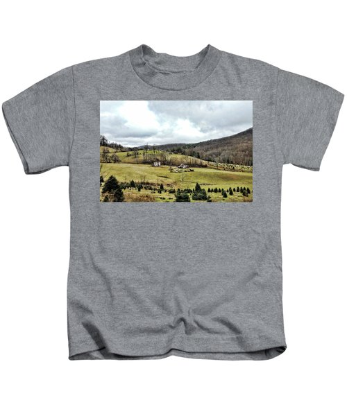 Blue Ridge Homestead Kids T-Shirt