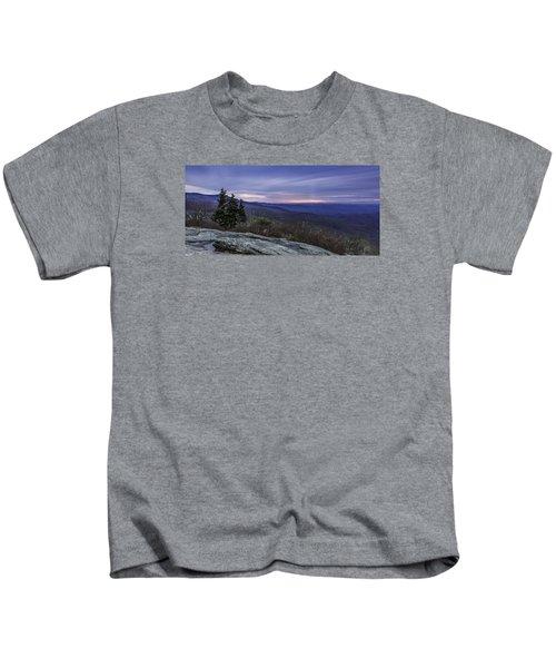Blue Ridge Parkway Sunrise Kids T-Shirt