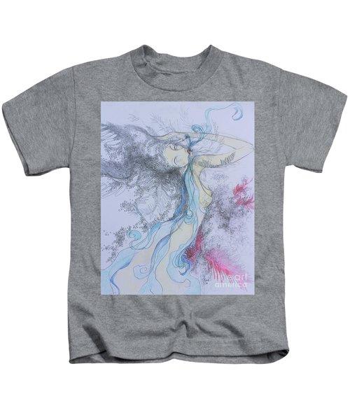 Blue Smoke And Mirrors Kids T-Shirt