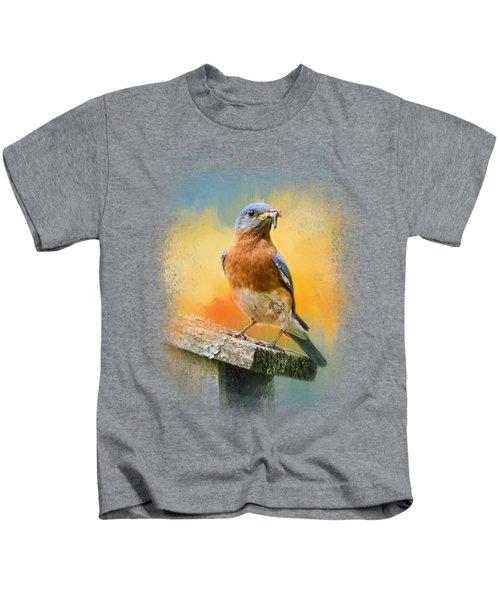 Bluebird Mealtime Kids T-Shirt