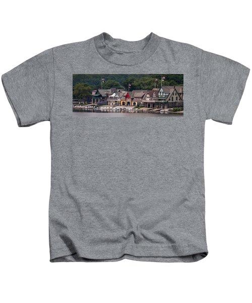 Boathouse Row Philadelphia Pa  Kids T-Shirt