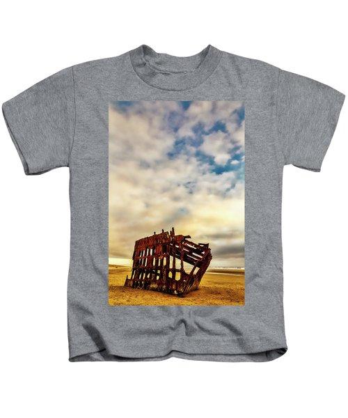 Bones Of A Shipwreck Kids T-Shirt