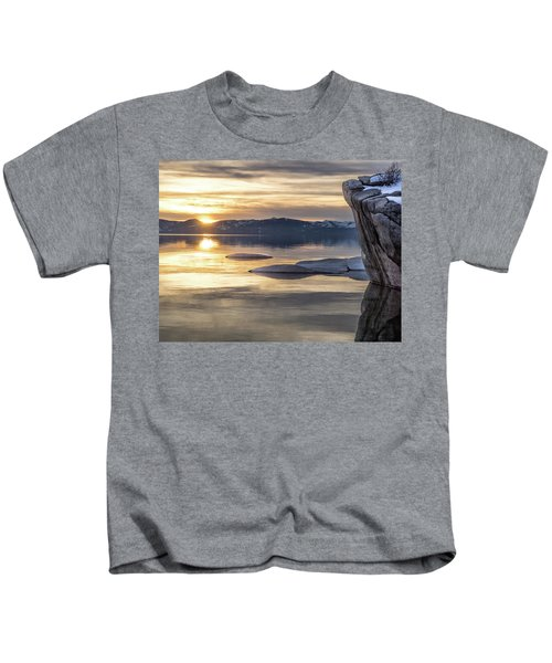 Bonsai Sunset Kids T-Shirt