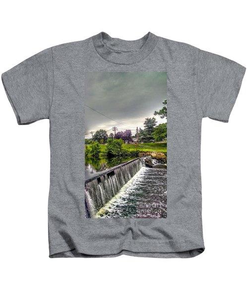 Boonton New Jersey Spillway Kids T-Shirt