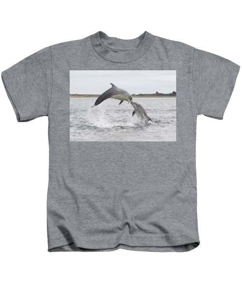 Bottlenose Dolphins - Scotland #1 Kids T-Shirt
