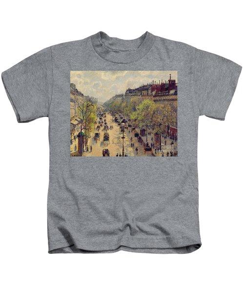 Boulevard Montmartre Kids T-Shirt