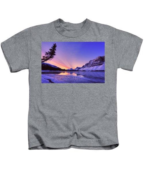 Bow Lake And Pine Kids T-Shirt