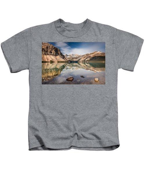 Bow Lake Glorious Reflection Kids T-Shirt