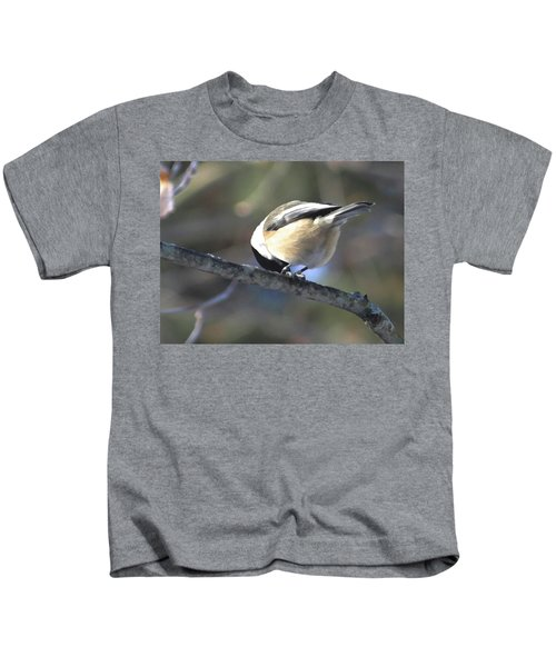 Bowing On A Branch Kids T-Shirt