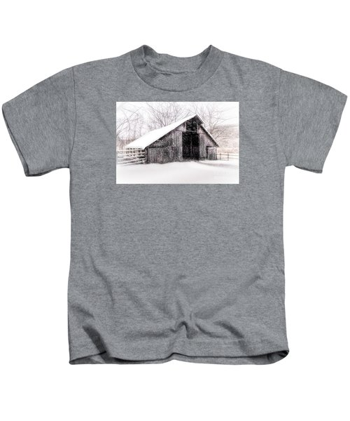 Boxley Snow Barn Kids T-Shirt