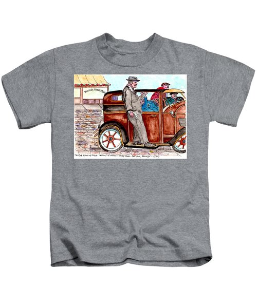 Bracco Candy Store - Window To Life As It Happened Kids T-Shirt