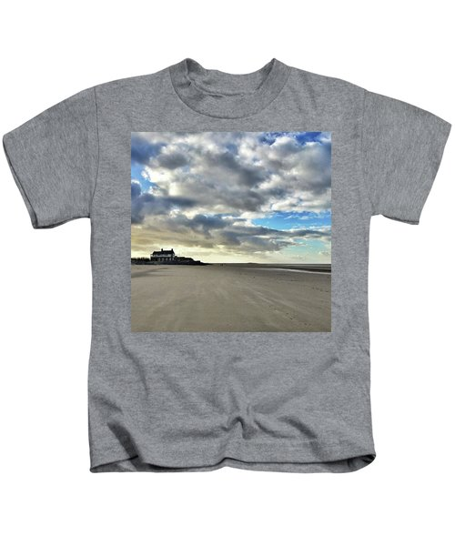 Brancaster Beach This Afternoon 9 Feb Kids T-Shirt