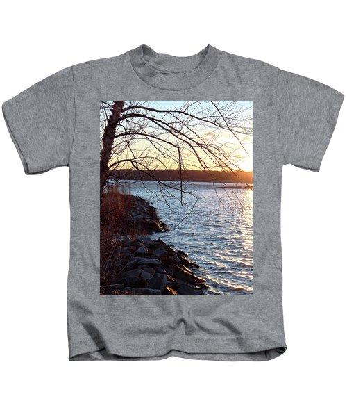 Late-summer Riverbank Kids T-Shirt