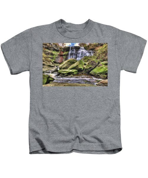 Brandywine Falls Kids T-Shirt
